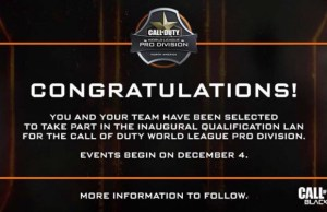 CoD:BO3:「The Call of Duty World League」のプロリーグ選考への参加チームが発表
