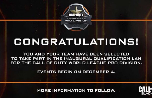 CoD:BO3:新大会「The Call of Duty World League」、プロリーグ選考への参加チーム発表