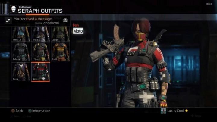 CoD:BO3:スペシャリスト「Seraph(セラフ)」の衣装画像がリーク、全8種
