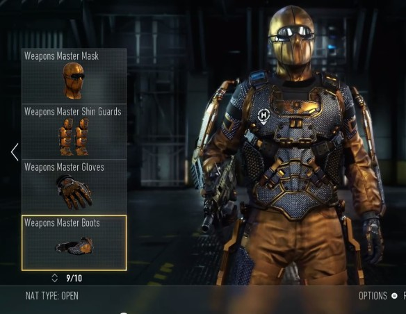 『CoD:AW』のWeapon Mastery装備セット