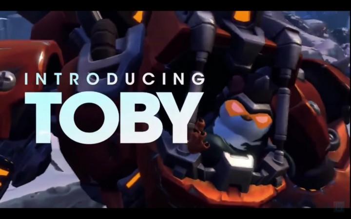 期待の新作FPS『バトルボーン』、かわいい新キャラクター「Toby」発表