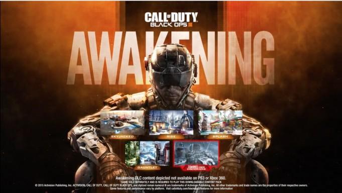 "CoD:BO3:第1弾DLC""Awakening""は来年2月発売、PS3とXbox360では発売無し"