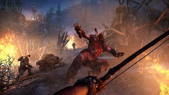 石器時代FPS『ファークライ プライマル』の合計30分にも及ぶ新たなプレイスルー映像が公開