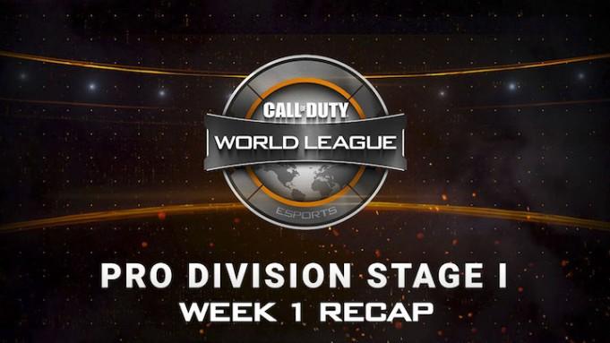 CoD:BO3:CWLステージ1 第1週が終了、全試合動画公開