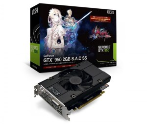 デバイス:「ELSA GeForce GTX 950 2GB S.A.C SS」発売前先行レビュー公開【PR】