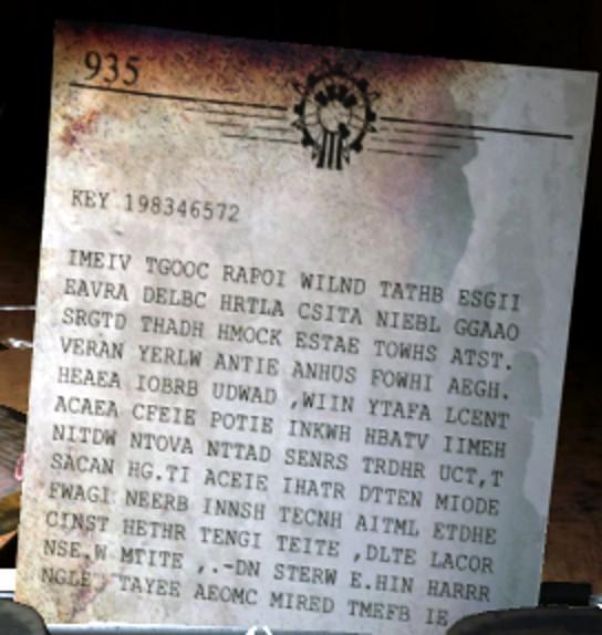 Der Eisendrache 暗号