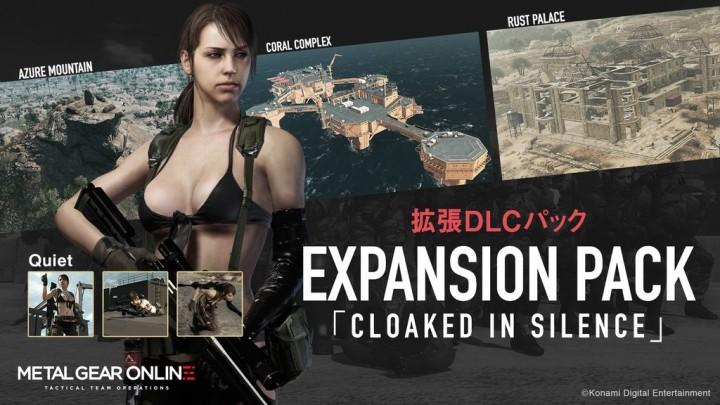 "MGSV:TPP:DLC「CLOAKED IN SILENCE」を3月配信、ステージやキャラクター""クワイエット""、新ゲームモードなど"