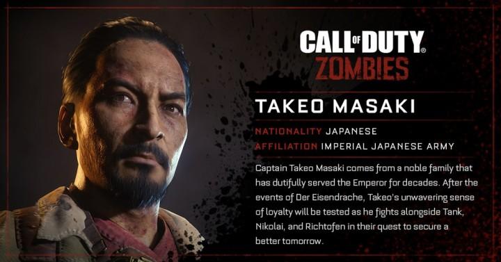 CoD:BO3:ゾンビモードに登場する4人の英雄の詳細プロフィール