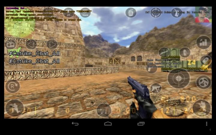 往年の名作対戦FPS『Counter-Strike 1.6』がAndroid携帯でプレイ可能に
