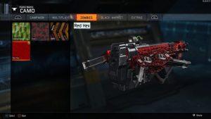 CoD:BO3:ブラックマーケット武器にゾンビモードの迷彩を適用できるグリッチ