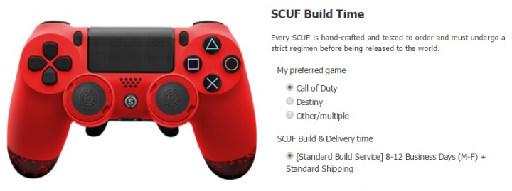 SCUF Infinity 4PS FPS-14