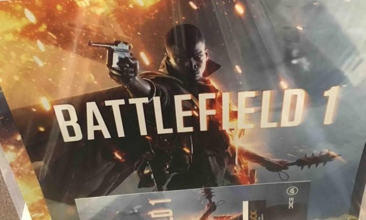 BF1:新作『バトルフィールド』は『Battlefield 1(バトルフィールド 1)』? ポスターらしき画像がリーク