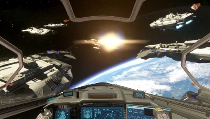 CoD:IW:お披露目トレーラーがリーク、宇宙船搭乗や宇宙空間での戦闘も