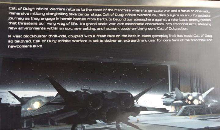 CoD:IW:キャンペーンの新画像登場、宇宙船内部の格納庫?