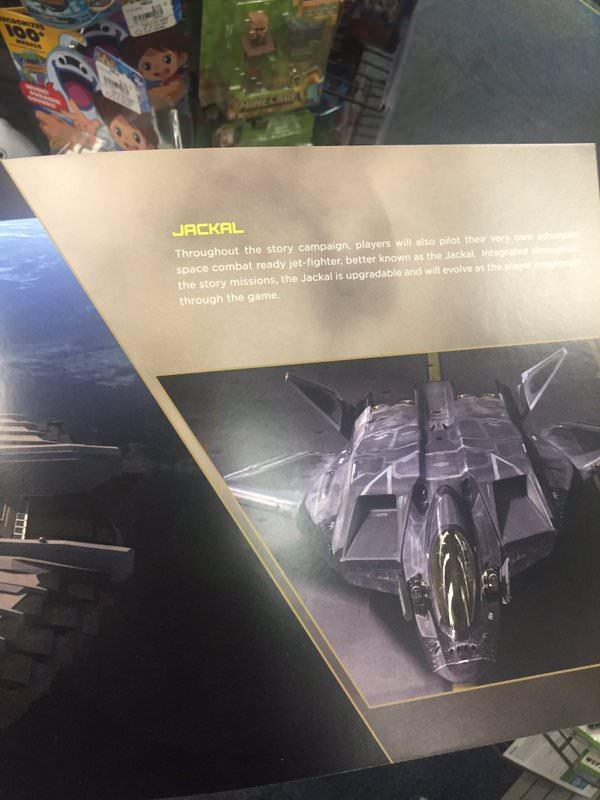 シリーズ初ともなる空と宇宙での戦闘を支える戦闘機「Jackal(ジャッカル)」。カスタマイズやアップグレードが可能なのも判明している。