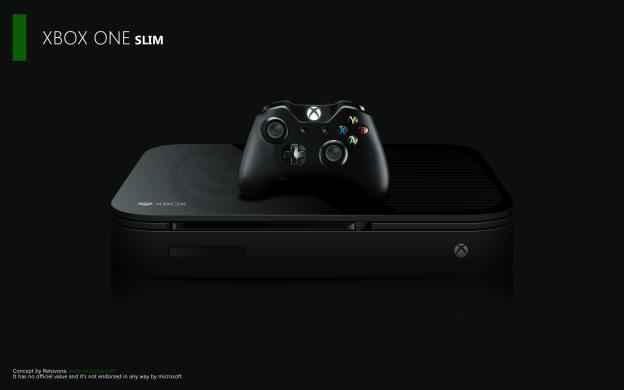 Xbox One Slim コンセプトアート