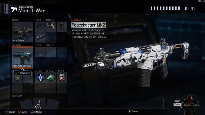 "CoD:BO3:新武器""PeaceKeeper MK2""実装へ?使ってみる方法判明"