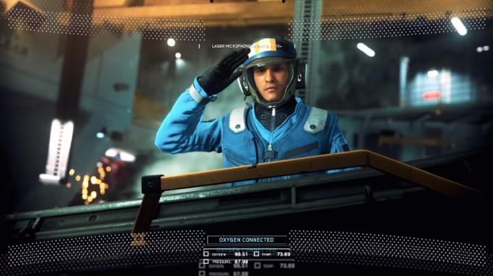 """CoD:IW:拠点となる巨大宇宙戦艦""""レトリビューション""""の概要を紹介するトレーラー"""