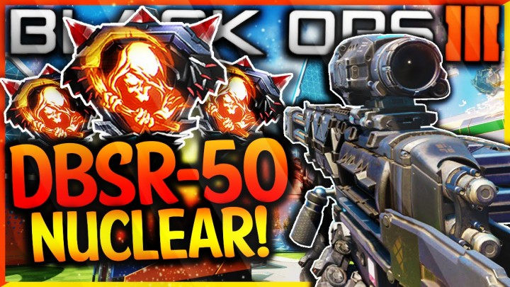 "CoD:BO3:新武器5種でのプレイ映像続々、弾数無限LMG""R70 Ajax""無双やSR""DBSR-50""でニューク達成など"