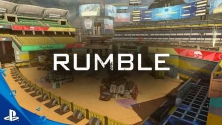 """CoD:BO3:第3弾DLC「Descent」に含まれるロボットスタジアム""""Rumble""""のプレビュー映像"""