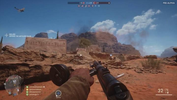 BF1:ダステル氏による砂漠マップ「シナイ砂漠」の先行プレイ映像(2本)