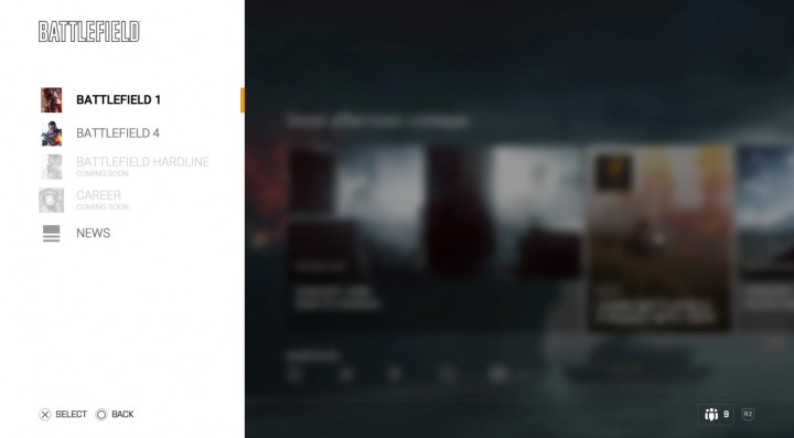 BF4 新UI