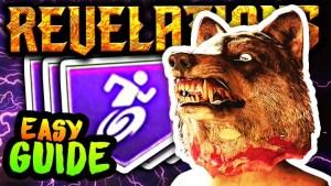 "CoD:BO3:ゾンビモード""Revelations""でオオカミの帽子(紫スタミンアップ)を取得する方法"
