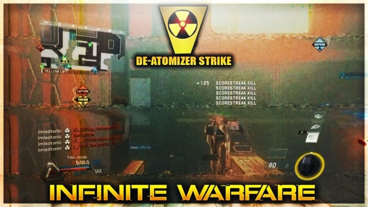 CoD:IW:戦術核「ディアトマイザーストライク」動画続々公開、ドミネーションでは試合続行、核チャレンジでの様々なドラマも誕生