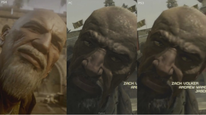 ... warfare rem... Xbox One Vs Ps4 Comparison Graphics