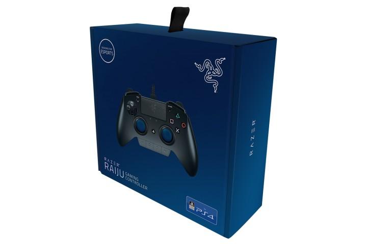 PS4用プロコン:Razer製「Raiju」が海外で予約開始、価格は約2万円