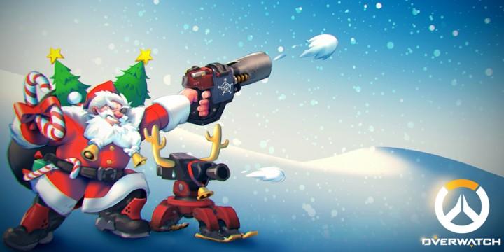 オーバーウォッチ:クリスマスイベントは12月14日から開催か