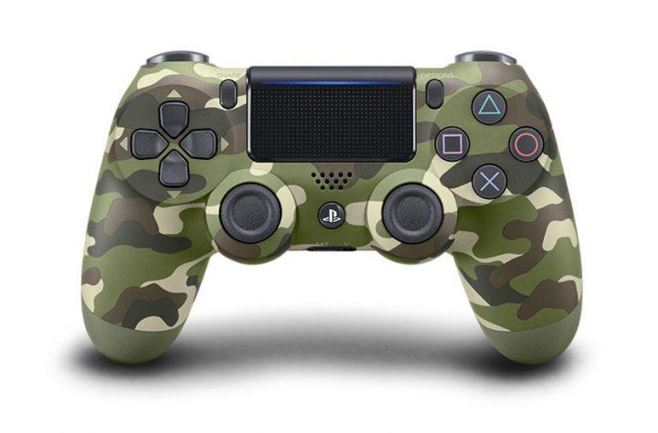 新PS4コントローラーで初となる迷彩柄 DUALSHOCK 4、「グリーン・カモフラージュ」発売