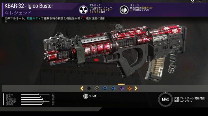 KBAR-32 - lgloo Buster