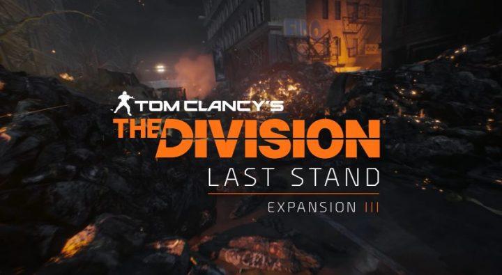 """ディビジョン: 拡張パック第3弾""""Last Stand""""のティザートレーラー公開、正式発表は1月20日"""