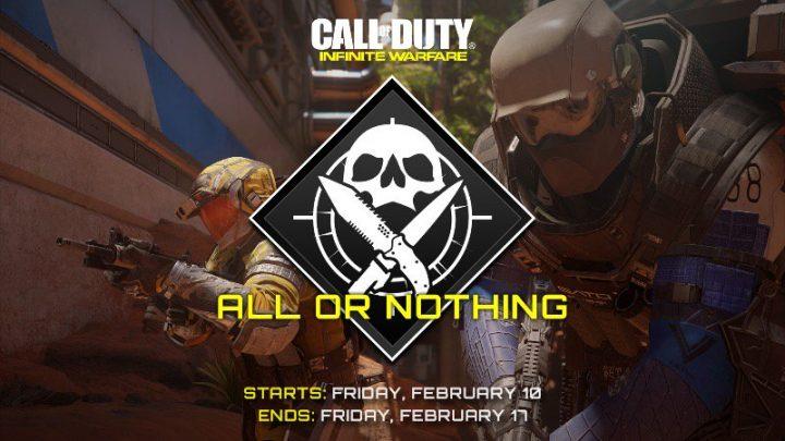 CoD:IW:懐かしすぎるゲームモード「All or Nothing」が期間限定で復活