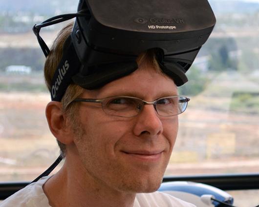 Oculus移籍当時のカーマック氏