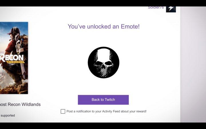 ランダムなデジタルアイテムの入った「Twitch Crate」をゲット可能