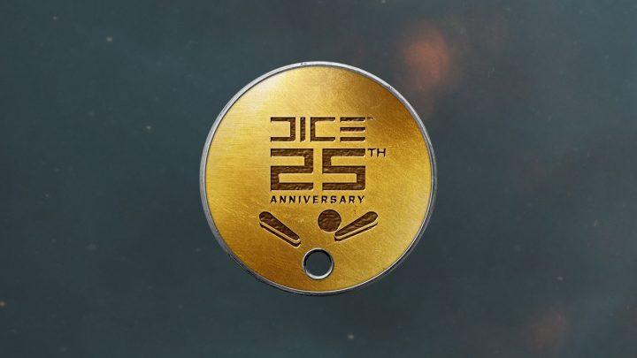 DICE25周年記念ドッグタグ