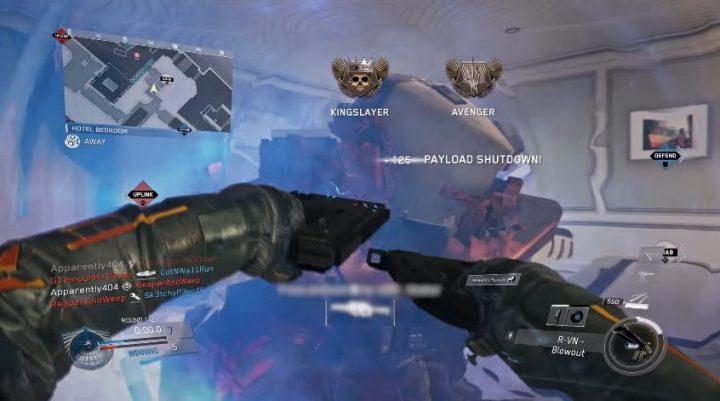 CoD:IW:新武器追加、2点バーストから近接スタンガンに変更できる「R-VN」や「斧」など