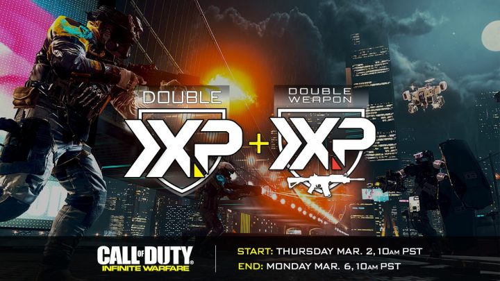 CoD:IW:ダブルXP&ダブル武器XP同時開催、3月3日より
