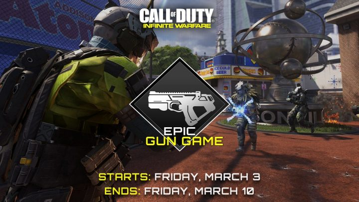 CoD:IW:エピック武器だらけのゲームモード「Epic Gun Game」再登場、1週間の期間限定