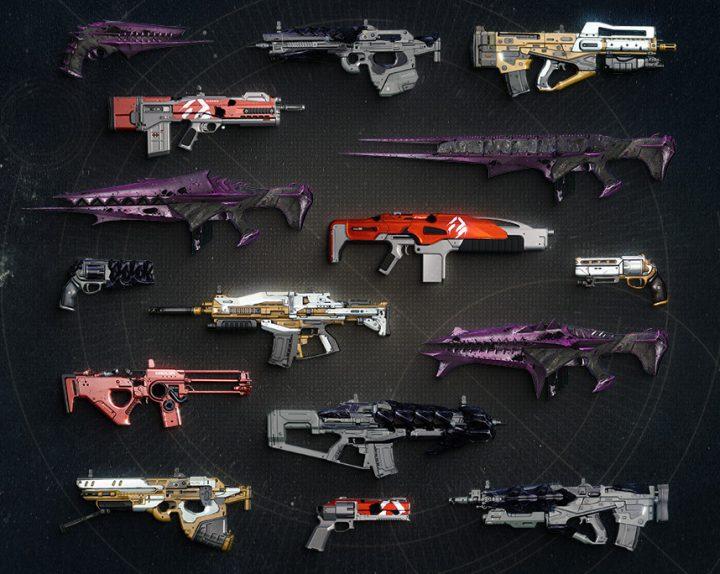 Destiny 武器