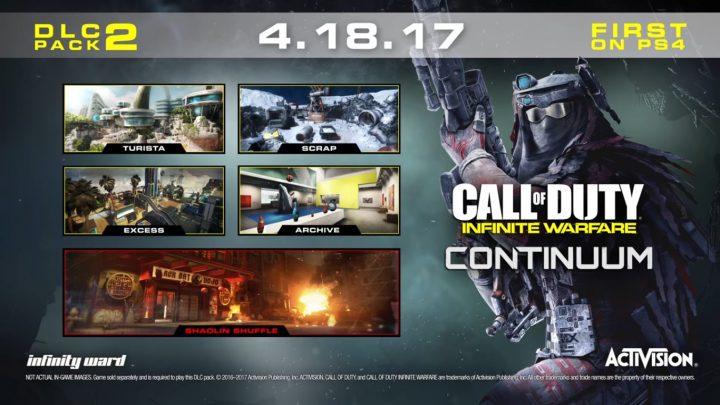 """CoD:IW:第2弾DLC「Continuum」発表、『CoD:MW2』の""""Rust""""リメイクマップや愉快な中華風ゾンビモード""""Shaolin Shuffle"""""""