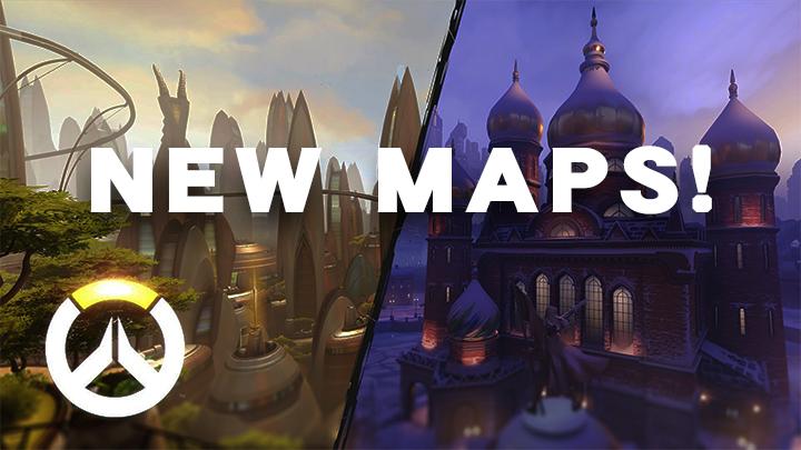 オーバーウォッチ: 新マップ3種が年内リリース予定、さらに特殊マップ3種も開発中