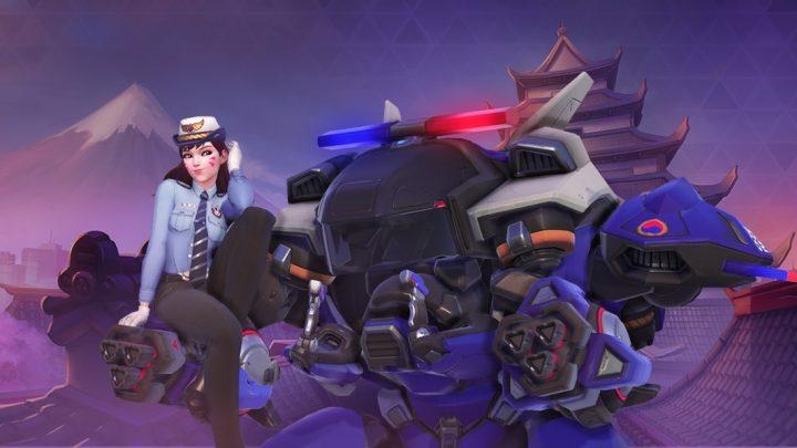 『Heroes of the Storm』と『オーバーウォッチ』のコラボ企画第2弾、D.Vaの警官スキンなどが登場