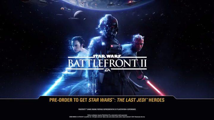 SWBF2: EA公式Twitterアカウントが『Star Wars Battlefront II』のトレイラーの公開時刻をアナウンス