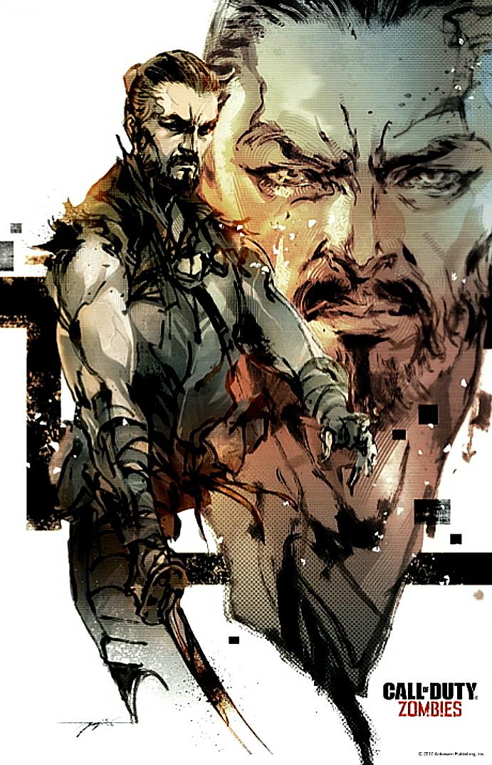 "CoD:BO3:MGSの新川氏による""Zombies Chronicles""アートワーク公開"