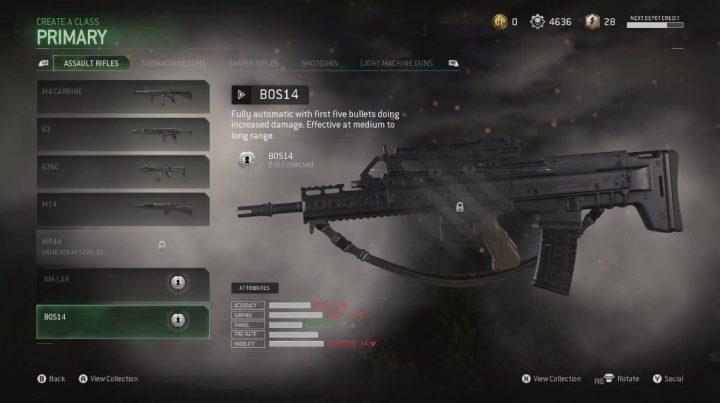 CoD:MWR:3種の新武器「BOS14」「FANG 45」「PROKOLOT」追加