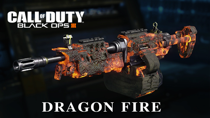 CoD:BO3:コミュニティチャレンジ達成、パック・ア・パンチ迷彩「Dragon Fire」が全プレイヤーへ解放
