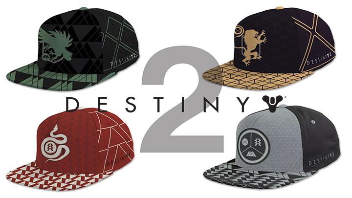 Destiny 2: ハンター、タイタン、ウォーロックをモチーフとした帽子が海外で販売開始(全4種)
